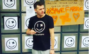 This guy is dancing for 24 hours straight to help save Fabric