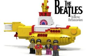 Lego teams up with The Beatles for a Yellow Submarine set
