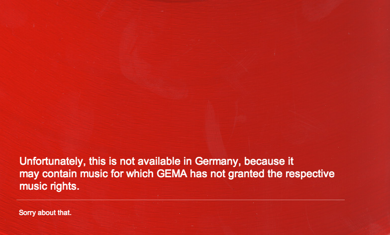 YouTube unblocks thousands of music videos in Germany after GEMA ends seven-year standoff
