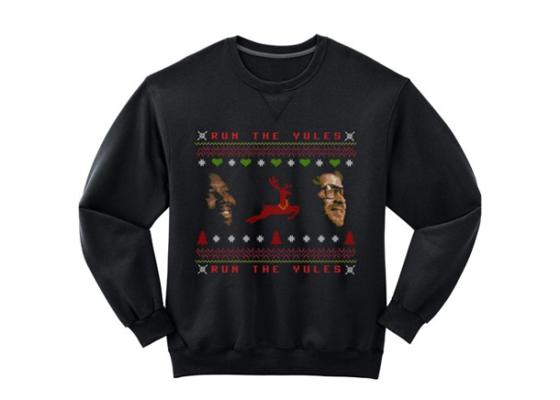 "Run The Jewels unveil new batch of ""moronic"" Christmas sweaters"