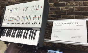 Korg ARP Odyssey FS image leak shows new reissue with full-size keys