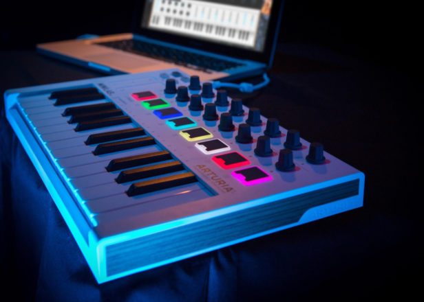 Arturia releases portable $99 MIDI keyboard, MiniLab MkII