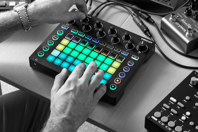 Novation Circuit now supports polyrhythms and pattern switch