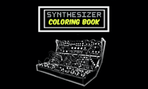 Bring in the holidays with this synthesizer coloring book