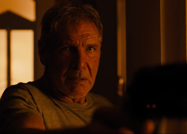 Watch Harrison Ford in the first trailer for Blade Runner 2049