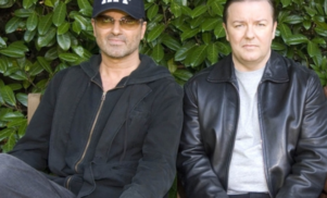 George Michael fans launch petition for tribute bench in honor of this hilarious Extras scene