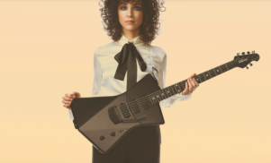 St. Vincent to release line of signature Ernie Ball guitars this spring