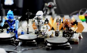 Watch a band of Lego robots cover Kraftwerk's 'The Robots'