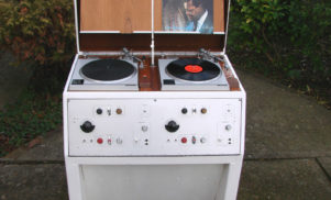 Rare Space Age BBC Technics vinyl console appears on eBay