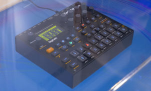 Get a first look at the Elektron Digitakt drum machine at NAMM 2017