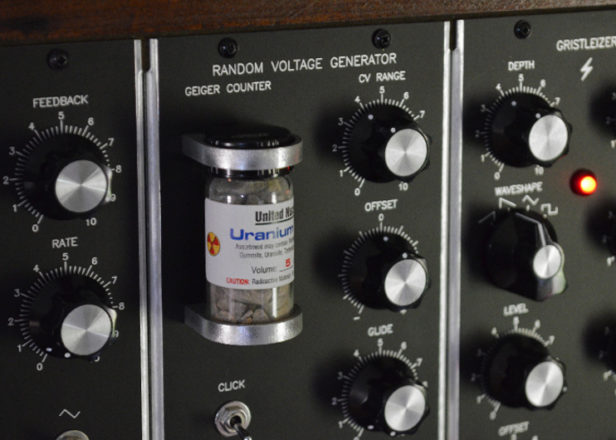 This nuclear-powered synth module makes sounds like a geiger counter