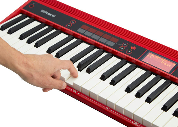 Roland's GO:KEYS is a keyboard designed for complete beginners