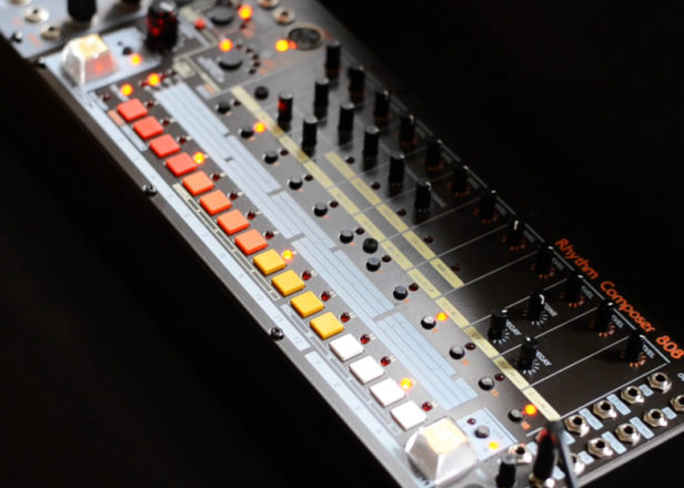 System 80 unveils a TR-808 drum machine clone for your modular synth