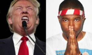 "Frank Ocean on Donald Trump's inauguration: ""We all know your event was dry"""