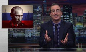 John Oliver enlists Eurodance girl group to warn Trump about Putin