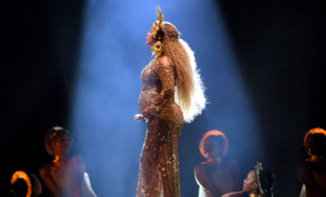 A very pregnant Beyoncé performed a Lemonade medley at the Grammys – watch