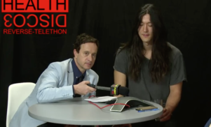 Watch Pauly Shore and HEALTH call fans to announce surprise album DISCO3