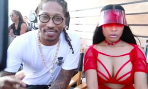 Nicki Minaj teases collaboration with Future