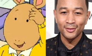 The internet thinks John Legend looks like cartoon favorite Arthur