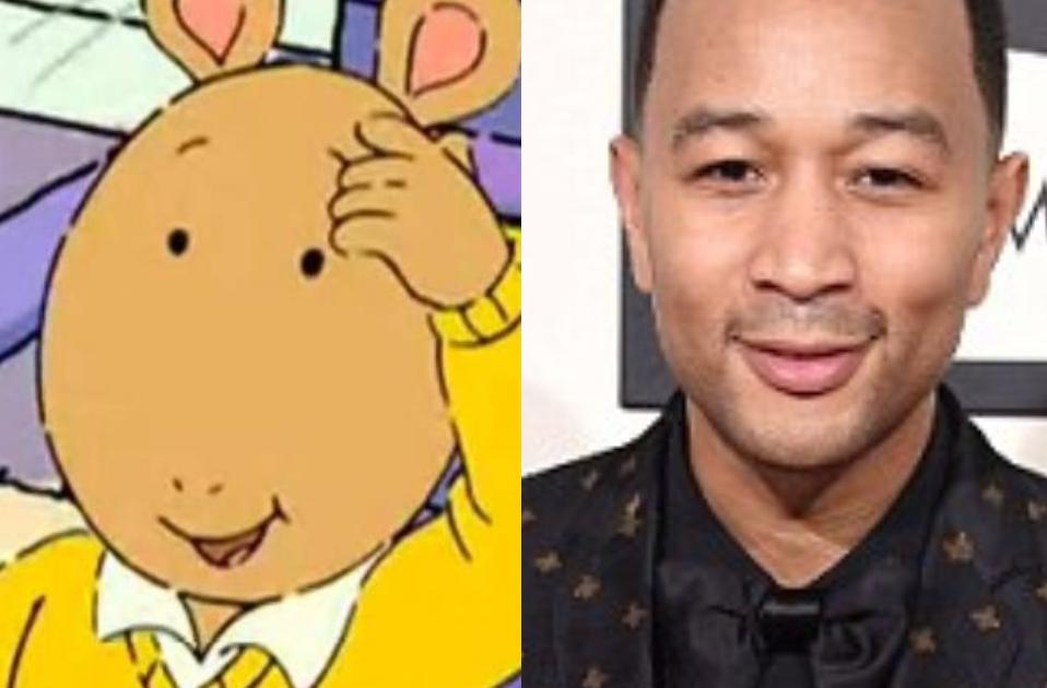The Internet Thinks John Legend Looks Like Cartoon