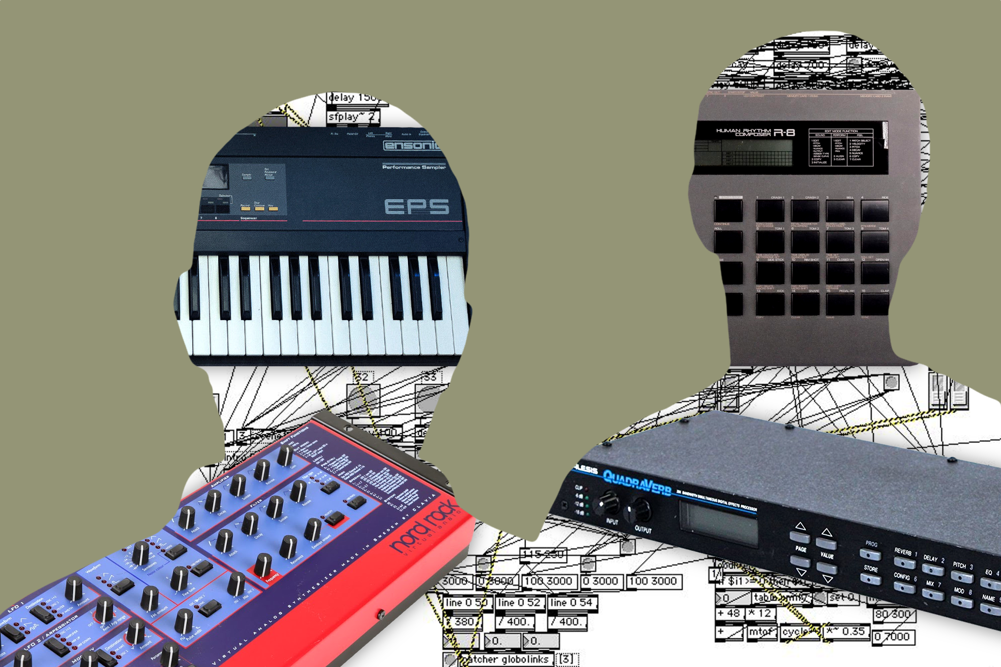 7 Pieces Of Gear That Helped Define Autechres Game Changing Sound Circuit Bending A Casio Sk1