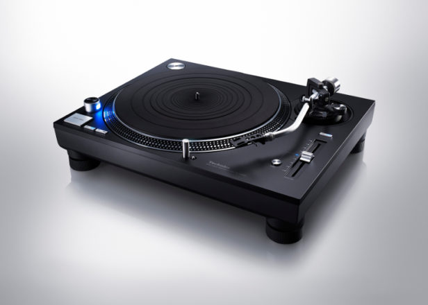 Technics is releasing a black SL-1210 reissue for £1,299