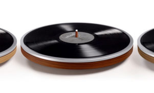 "This minimal new record player is ""just a wheel"""