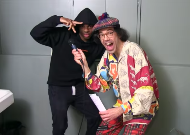 Watch Nardwuar interview Vince Staples