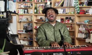 Watch Sampha perform for NPR's Tiny Desk Concert