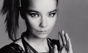 Björk played a surprise DJ set at London's tiny Corsica Studios last night