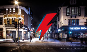Plans for a giant David Bowie lightning bolt statue in Brixton have fallen through