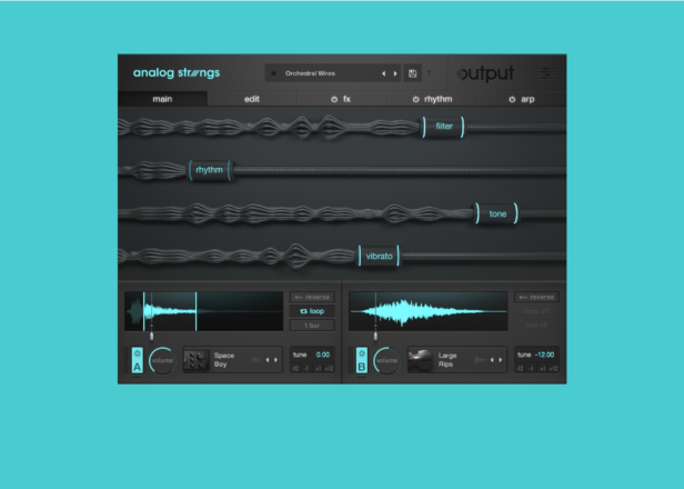 Output's new plug-in makes wild acoustic and electronic string hybrids