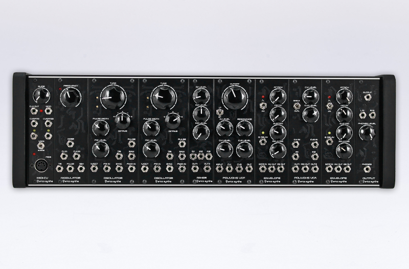 this eurorack system is inspired by the soviet