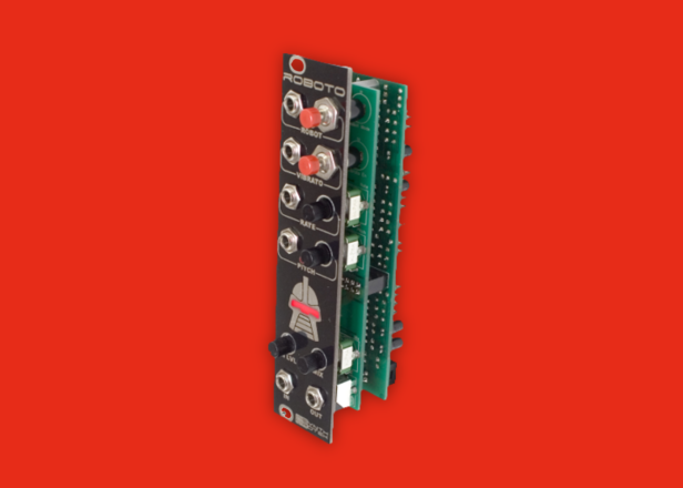 This module is the ultimate robot voice effect for your Eurorack system