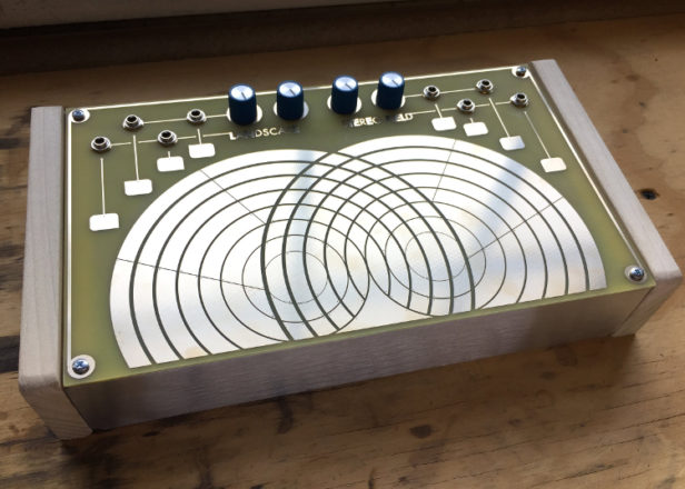 Stereo Field is a Buchla-style instrument for patching sounds with touch