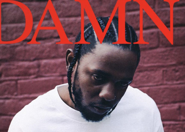 "Kendrick Lamar graphic designer explains ""loud and abrasive"" DAMN. cover"