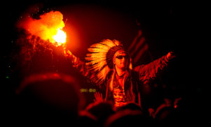 Jail time for UK festival-goers who use flares or sparklers