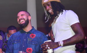 "Young Thug announces ""singing album"" executive produced by Drake to be released this week"
