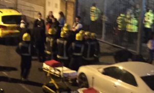 East London nightclub attack leaves a dozen injured with chemical burns