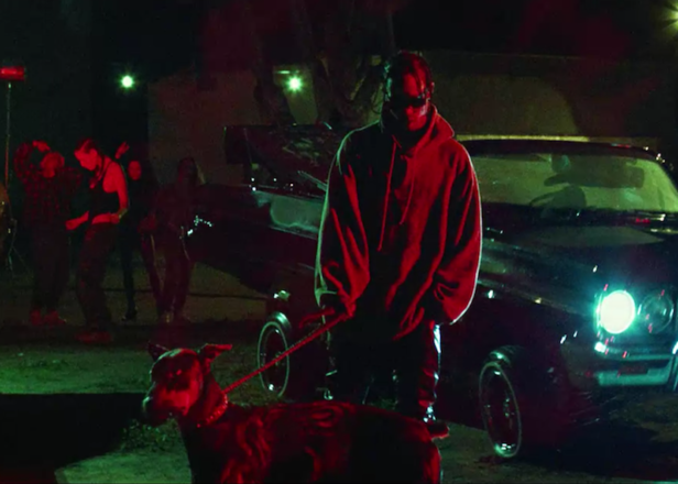 Watch Travis Scott and Kendrick Lamar in the psychedelic and spooky 'goosebumps' video