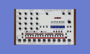 Jomox's Alpha Base is an analog drum machine and synth in one