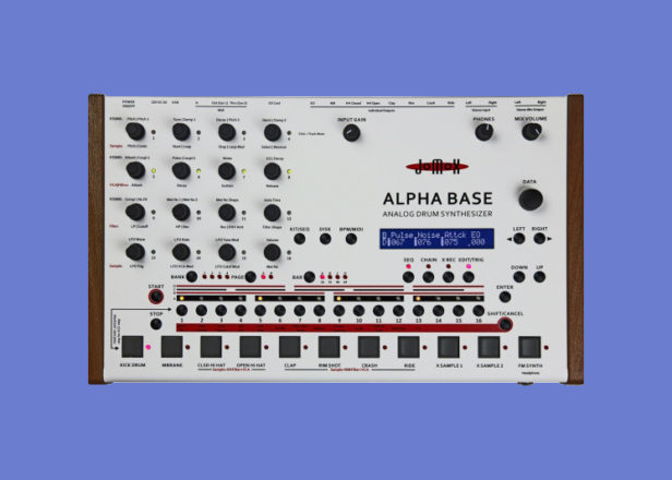 Jomox's Alpha Base is a drum machine and synth in one