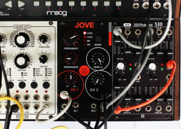 This effects module is a Jupiter-6 filter for your modular synth