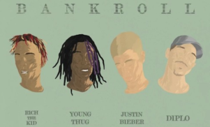 Diplo and Justin Bieber reunite for 'Bankroll' featuring Rich the Kid and Young Thug