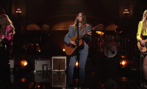 Watch HAIM perform new music on SNL
