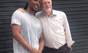 JME meets Jeremy Corbyn in drive to get young people to vote in UK election
