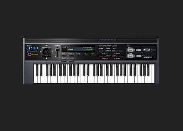 Roland's vintage D-50 synth now available via subscription service