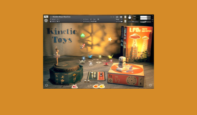 NI's latest instrument creates music from vintage toy recordings