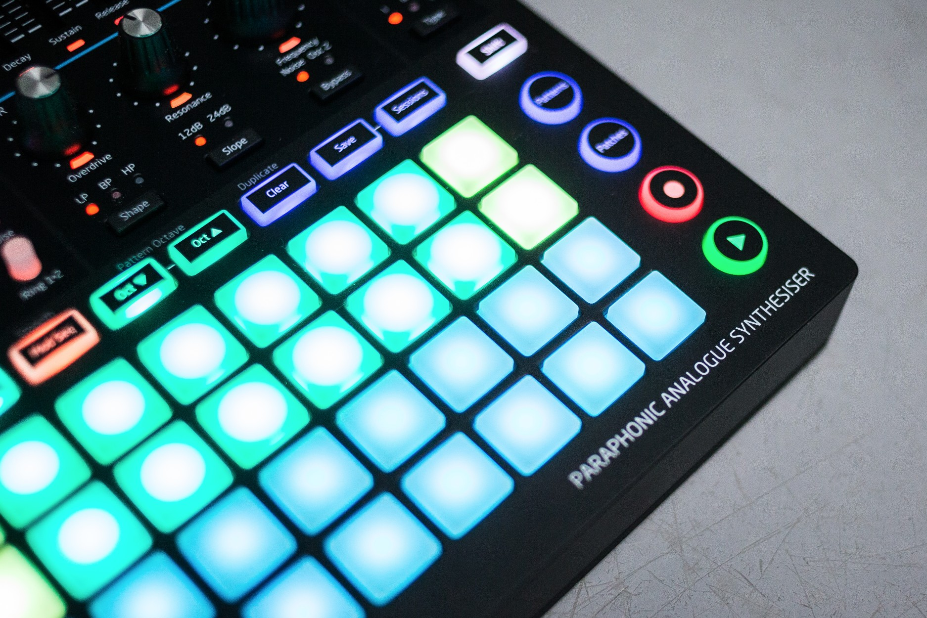 Novation Circuit Mono Station Review A Fun Analog Synth And Sequencer The Shown Is Most Interesting Of Several Drum Oscillators Anyone Who Already Owns Will Be Pleased To Know That Nothing Much Has Changed With Way Handles Sequencing In Comparison