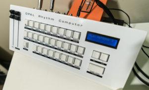 DMX Krew shows us his Opal Rhythm Computor